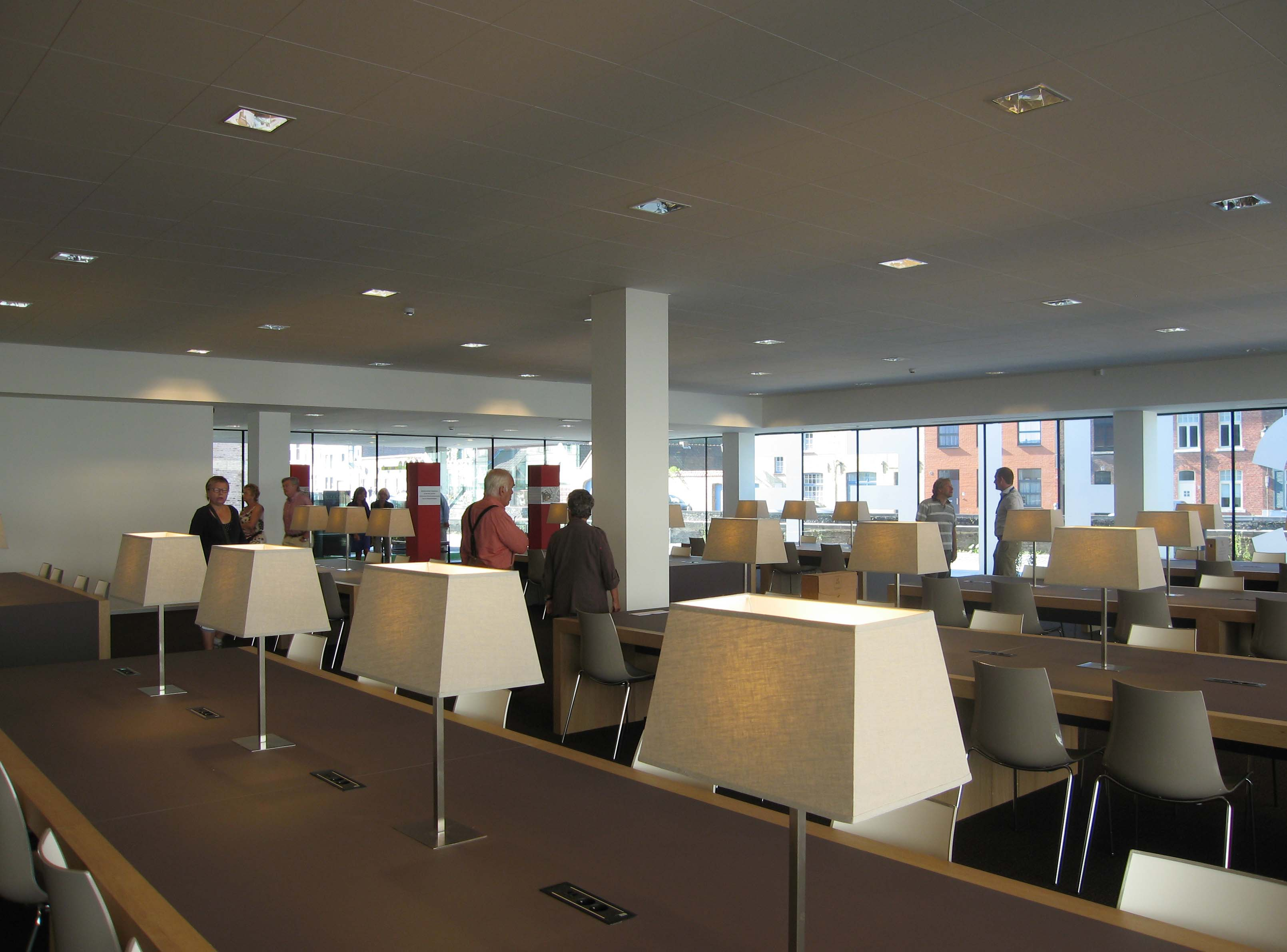 Rijksarchief brugge opende zijn nieuwe deuren erfgoedblog for Dhondt interieur brugge openingsuren